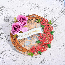 Load image into Gallery viewer, Roses Entangled Wreath Dies Set