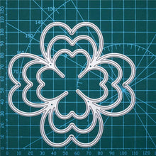 Load image into Gallery viewer, Four-leaf Clover Nesting Dies