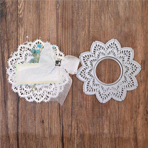 Lovely Hollow Lace Flower Decor Dies