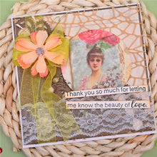 Load image into Gallery viewer, Circle Nesting Floral Lace Frame Dies