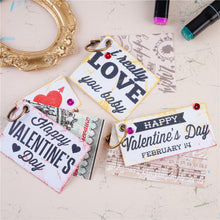 Load image into Gallery viewer, Valentine's Day Elements Stamps