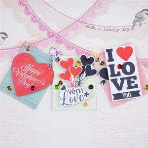 Valentine's Day Elements Stamps