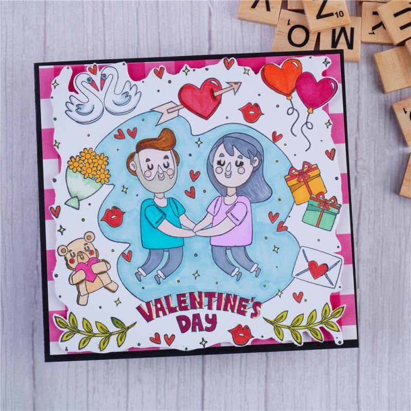 Happy Lovers Stamps