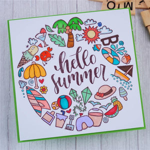 Summer Occasions Stamps