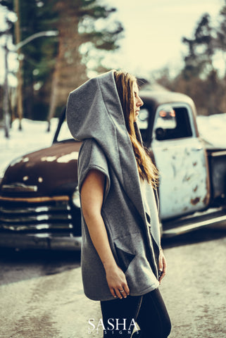 Grey Freedom Wrap