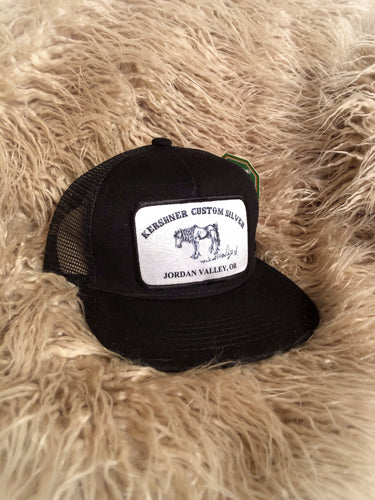 The Buster-Kids Black Trucker Cap