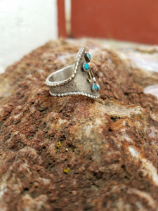 The Rio Lobo-Custom Turquoise Ring