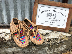 Inca Warrior-Moccassins