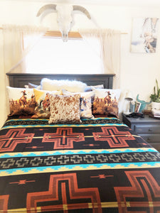 The Silver City-Southwest Bedspread