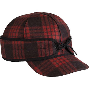 Millie-Black/Red Tartan