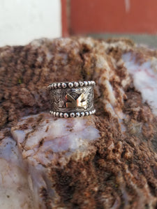 The Ranch Boss-Custom Brand Ring