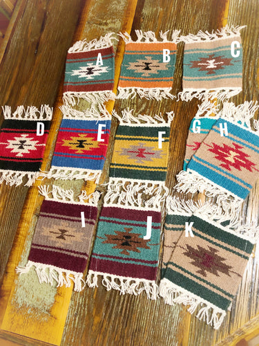 Southwest Wool Coasters