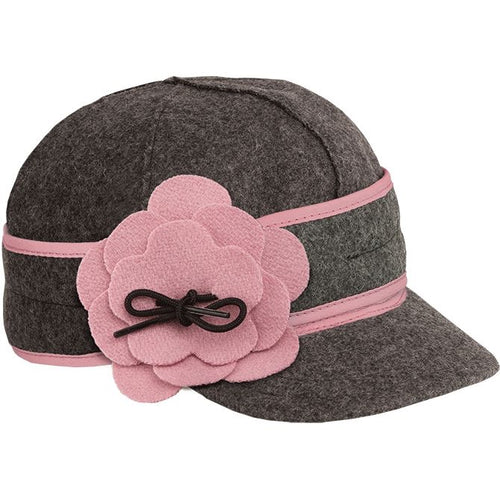 KIDS Petal Pusher-Charcoal/Pink