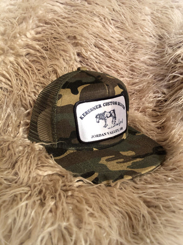 The Buster-Kids Camo Trucker Cap