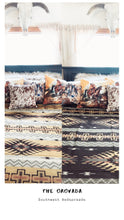 The Orovada- Southwest Bedspread