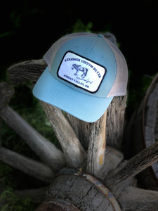 Steel Turquoise & Grey Trucker