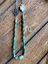 Oakley I-Turquoise & Silver Necklace