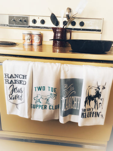 Ranchy Kitchen Towels