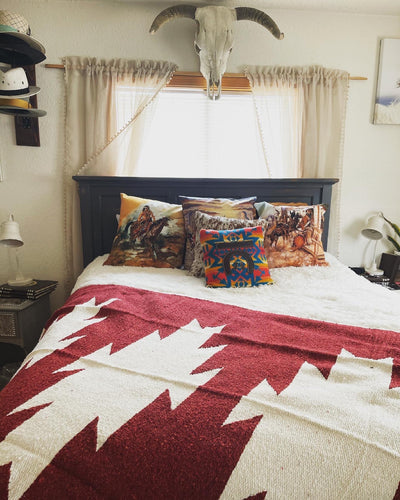 The Casita Blanket-Rusty Burgundy