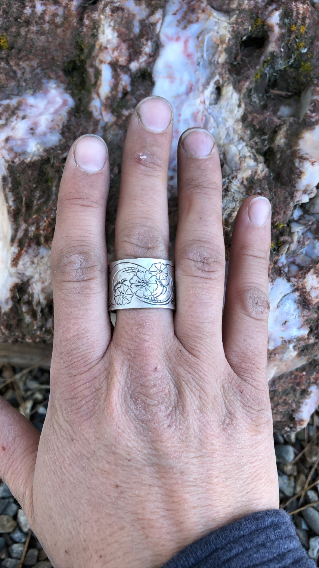The Darla-Wide Band Ring