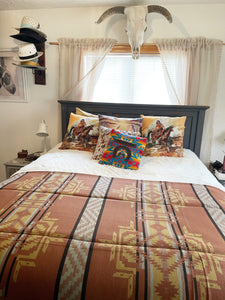 The Jasper-Southwest Bedspread