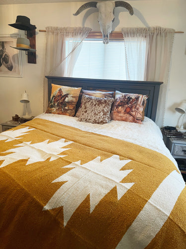 The Casita Blanket-Mustard
