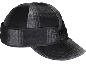 Original Stormy Kromer-Grey/Black Plaid