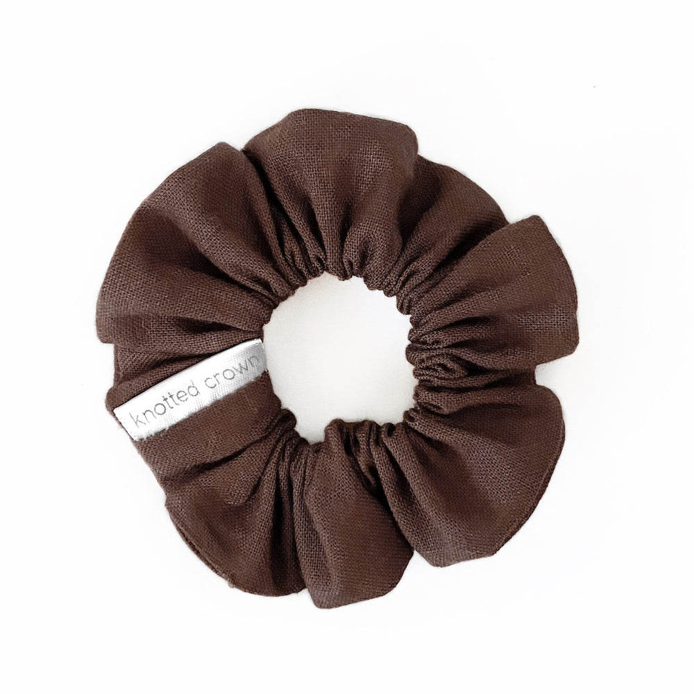 belgian | mini scrunchie