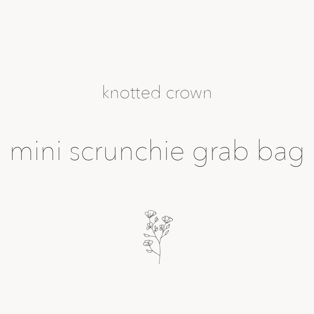 mini scrunchie | mystery bundle