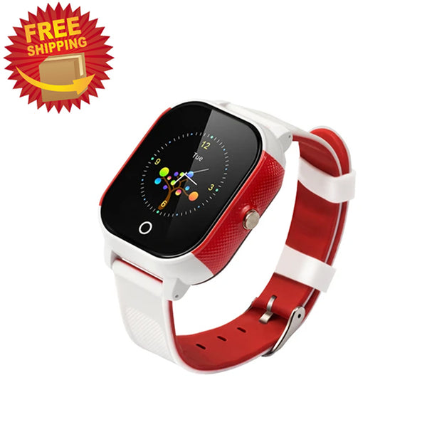 Waterproof GPS Smart Watch with SOS Alarm Anti-Lost Real-time Tracking Phone Watch for Kids and Elderly