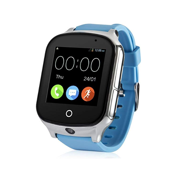 3G WIFI Phone Call Real-time Tracking SOS Geo-fence Touch Screen Camera Step Counter SOS Alarm Anti-lost GPS Watch For Kids Elderly