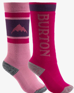 Burton Weekend Midweight Youth 2 Pack Socks