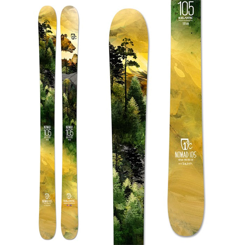 Icelantic Nomad 105 Skis 2020