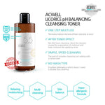 Acwell Licorice pH Balancing Cleansing Toner