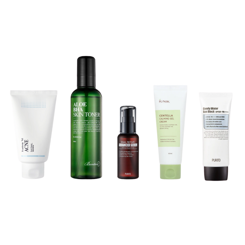 FB Basic Bundle - Acne-Prone Skin