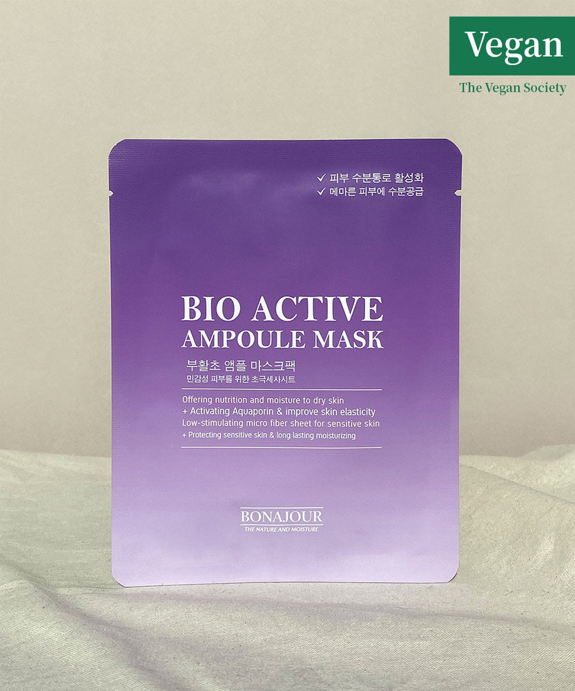 Bonajour Bio Active Resurrection Plant Ampoule Mask 25g (10sheets)