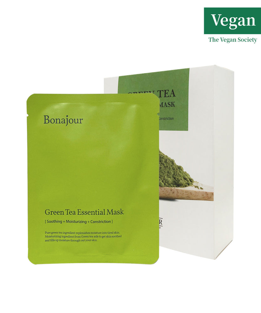 Bonajour Green Tea Essential Mask 25g (10sheets)