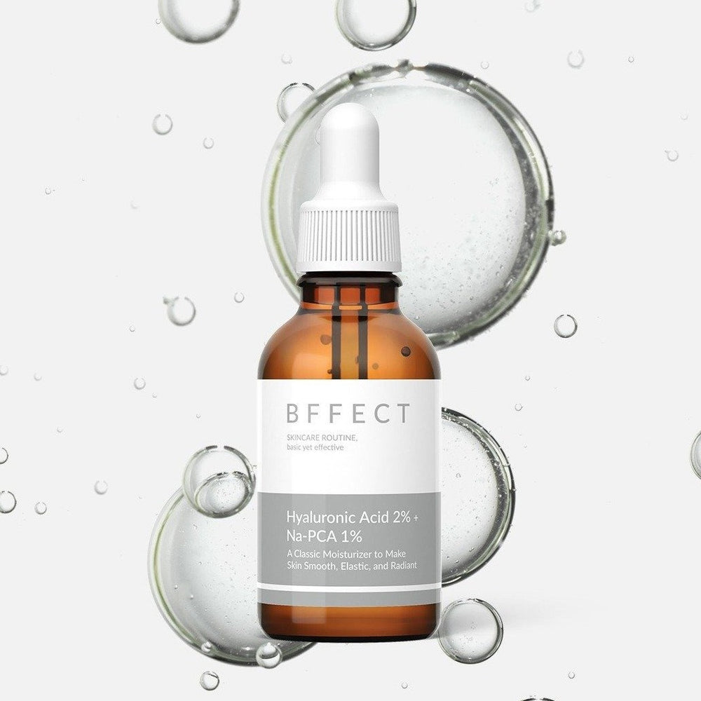 BFFECT Hyaluronic Acid 2% + Na-PCA 1%