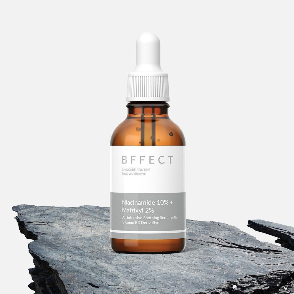 BFFECT Niacinamide 10% + Matrixyl 2% Serum