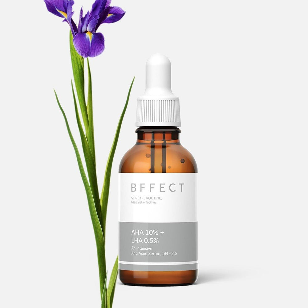 BFFECT AHA 10% + LHA 0.5% Serum