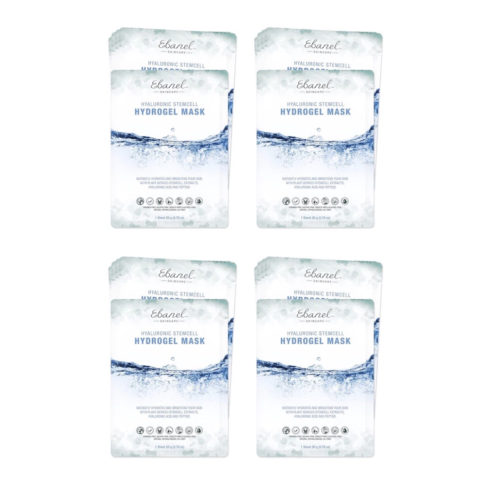 Set of 4 Ebanel Stemcell Hydrogel Sheet Mask (20pc)