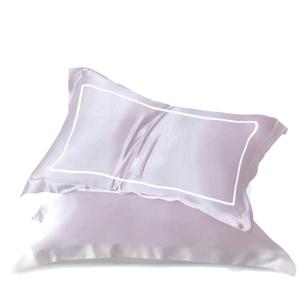 Stay In Satin - Satin Pillowcase in Taupe