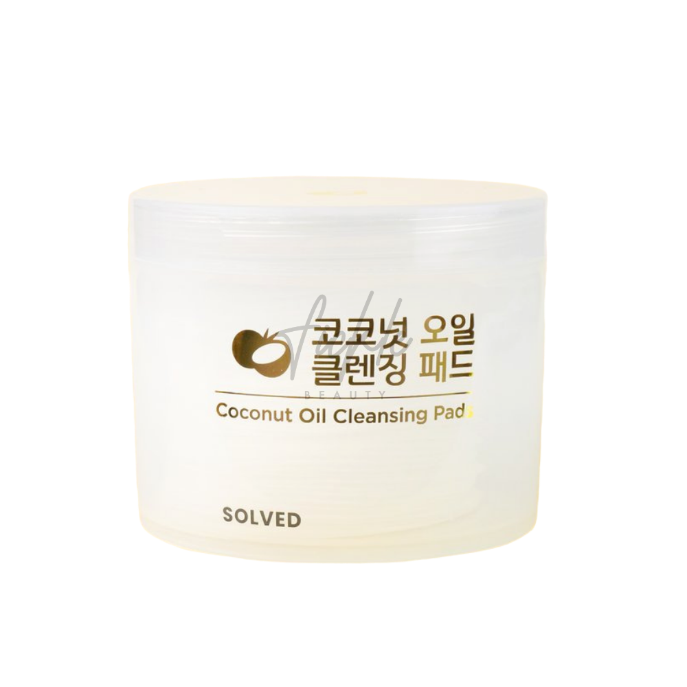 SOLVED Coconut Oil Cleansing Pads