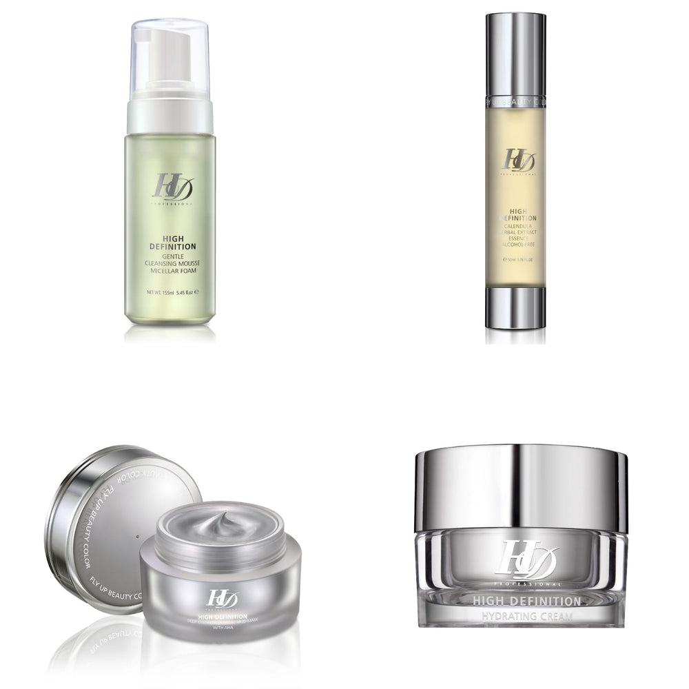 HD August Bundle for Oily Skin