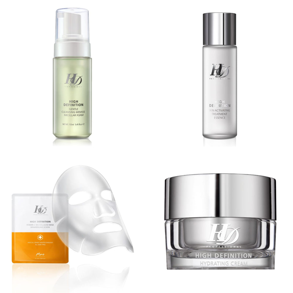 HD August Bundle for Dehydrated Skin