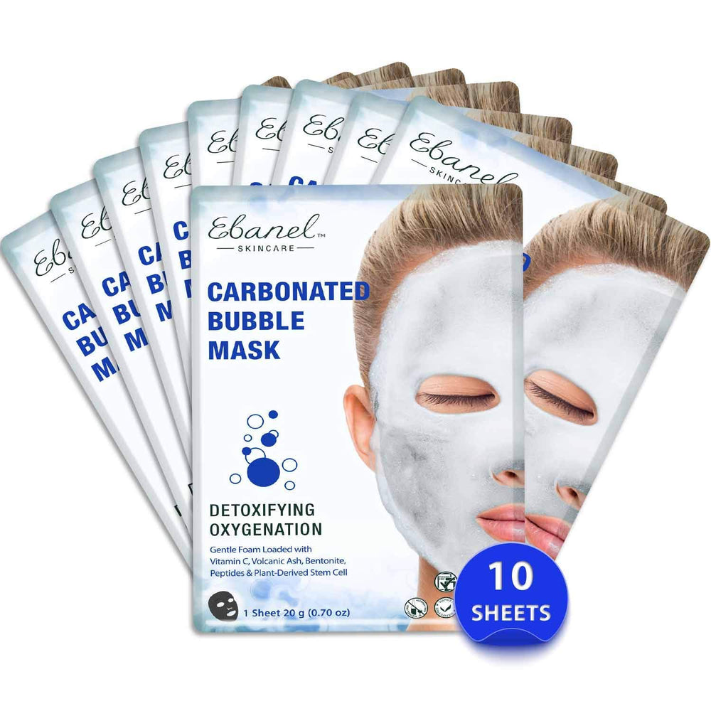 Ebanel Carbonated Bubble Mask Pack (10 Sheets)