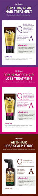 DR GROOT Hair Loss Control Conditioner