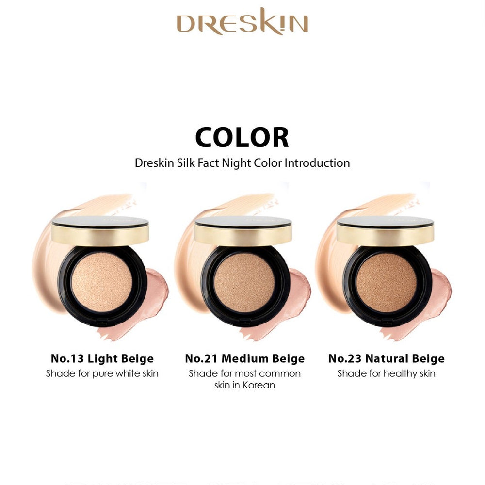 DRESKIN Silk Pact Balm Cushion (3 Shades)