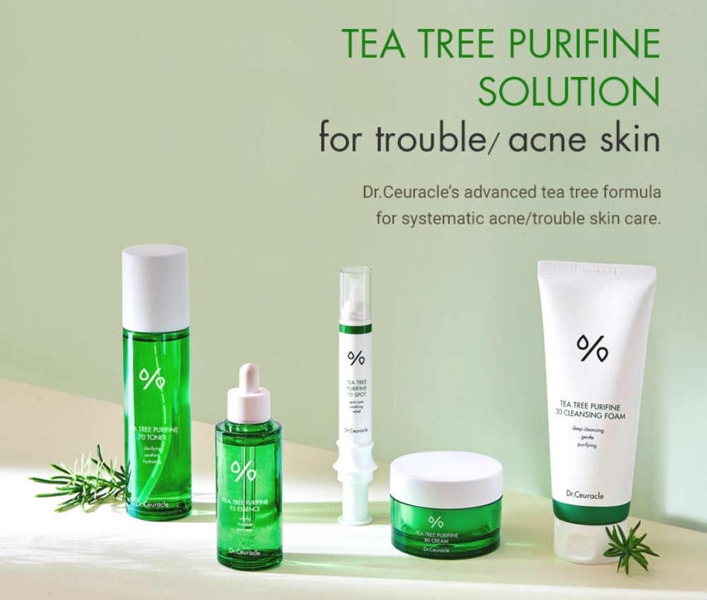 Dr.Ceuracle Tea Tree Purifine 70 BHA Toner