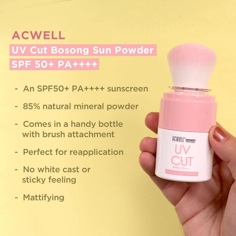 ACWELL UV Cut Bosong Sun Powder SPF50+